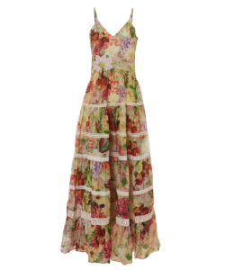 Carolina K Marieta Floral Maxi Dress