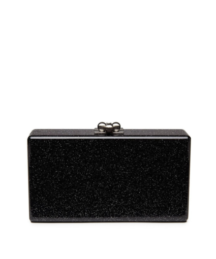 edie parker jean starlight clutch black