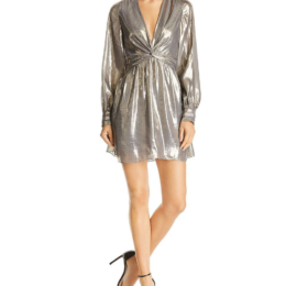 Ramy Brook Elise Dress Platinum