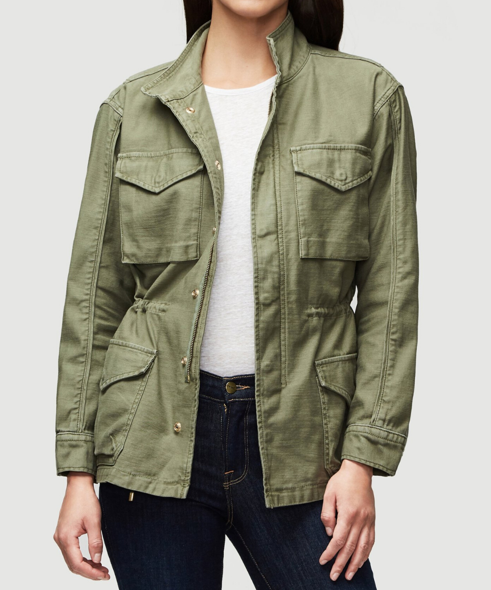 frame service jacket military