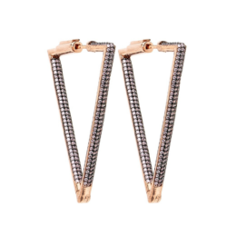 nickho rey bermuda earrings light pink