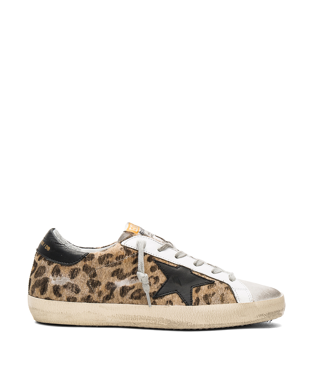 Hartly Superstar Sneakers – Leopard / Black