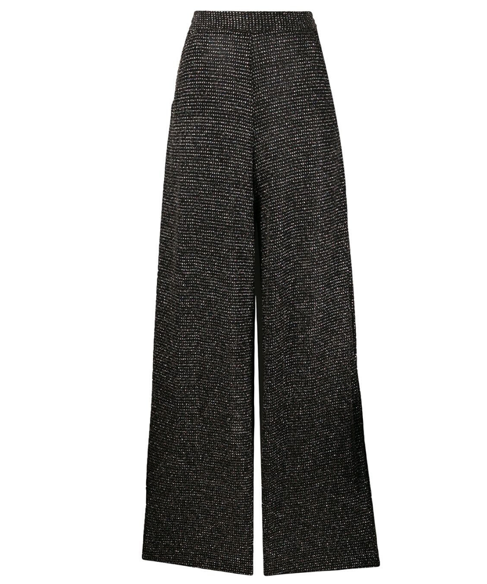 Just Cavalli Wide Leg Pant Black Rainbow
