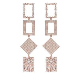 Nickho Rey Bond Earrings Rose Gold