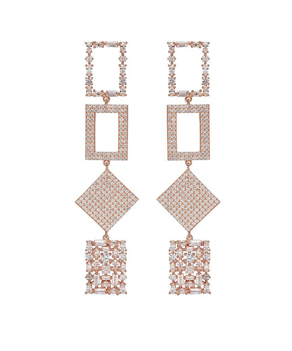 Nickho Rey Bond Earrings Rose Gold