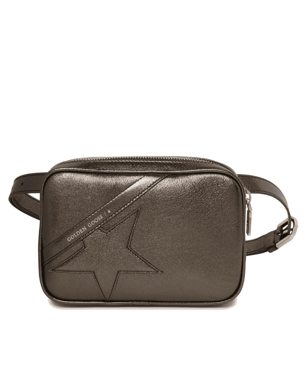 Logo Star Belt Bag Pewter Golden Goose Product