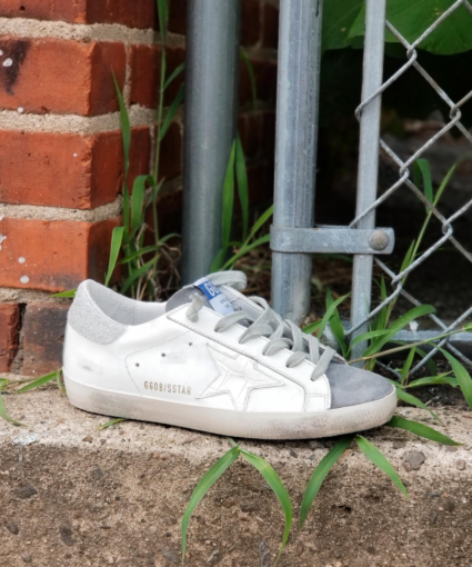 Superstar Sneaker White Grey