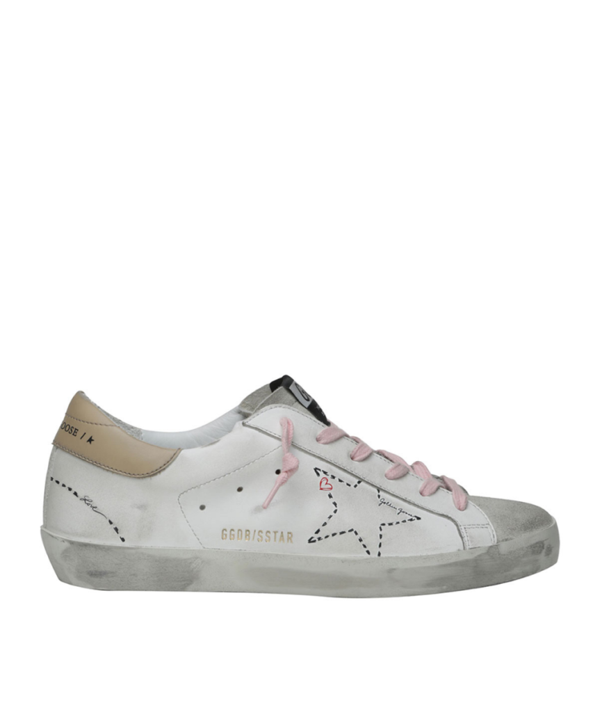 Superstar Sneaker White Pink Golden Goose
