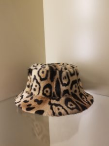Fur Bucket Hat Leopard Linda Richards