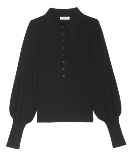 ETTA TOP BLACK ALC