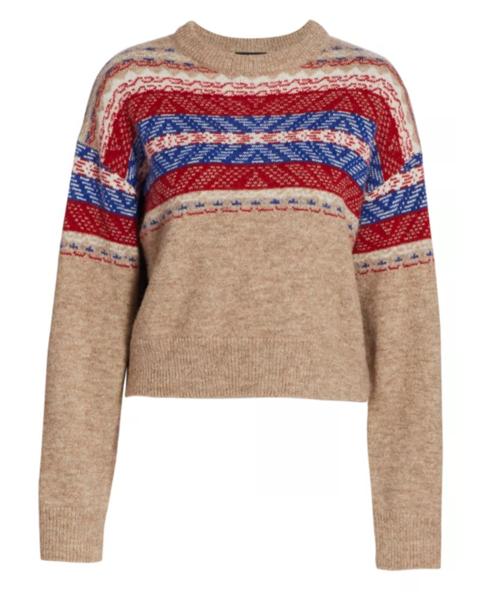 Finlay Sweater Camel Rag & Bone