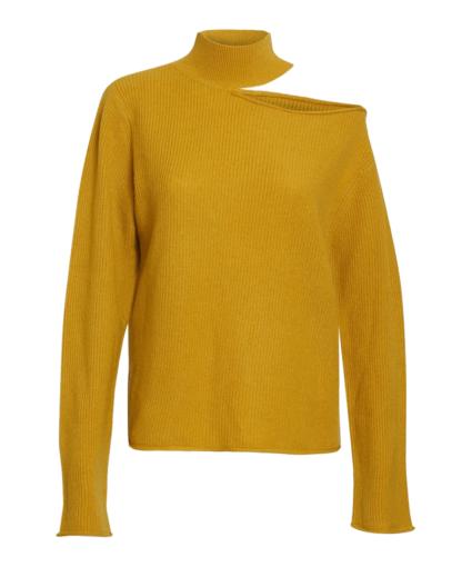Langley Sweater Mustard Yellow RtA