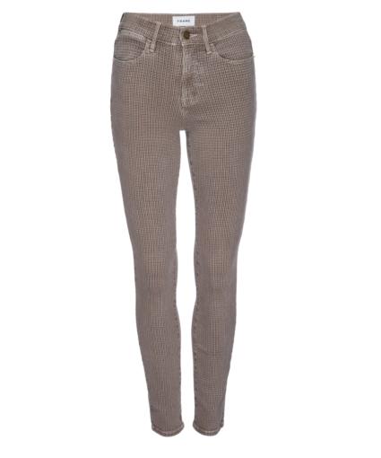Le High Skinny Jean Tawny Multi Frame