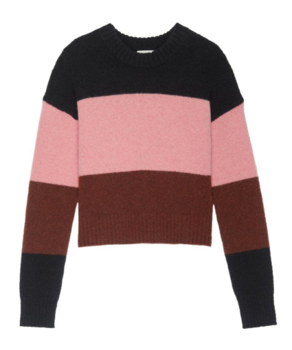 Morrison Sweater Midnight Coral Pink Sumac A.L.C.