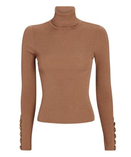 desi sweater camel