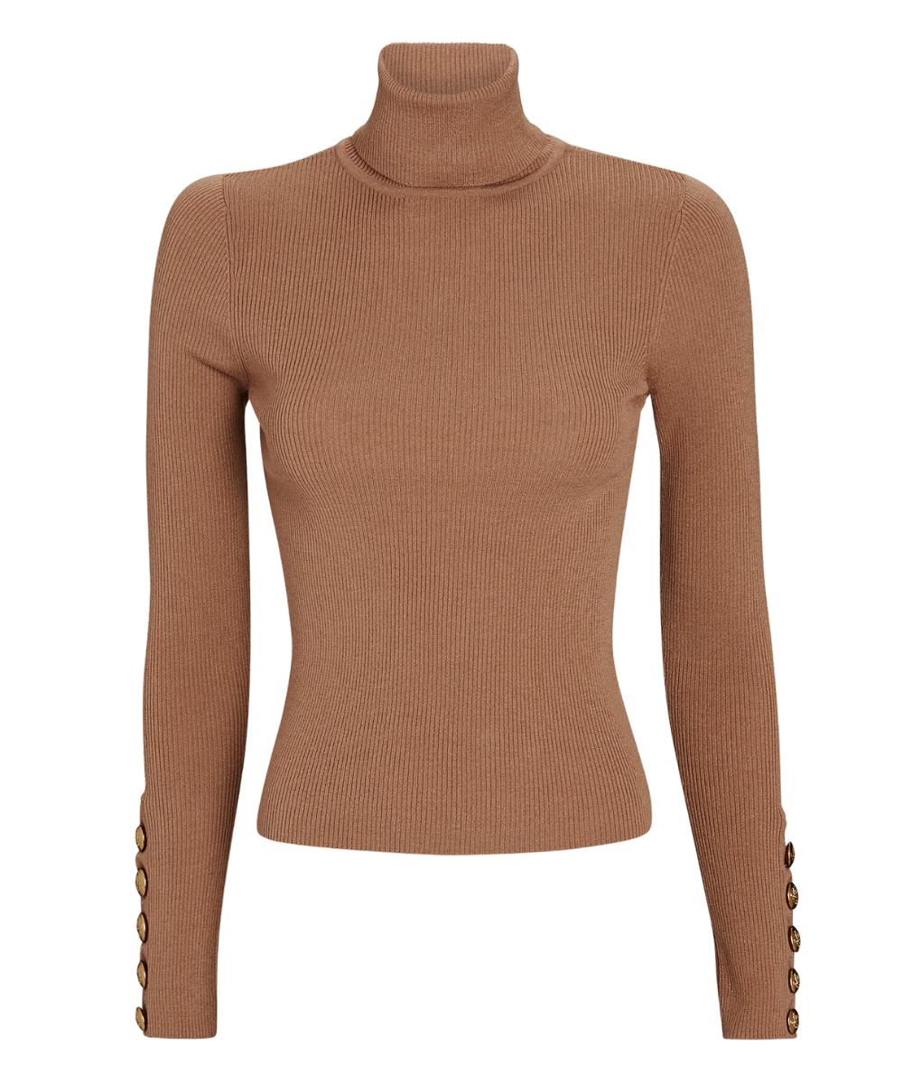desi sweater camel