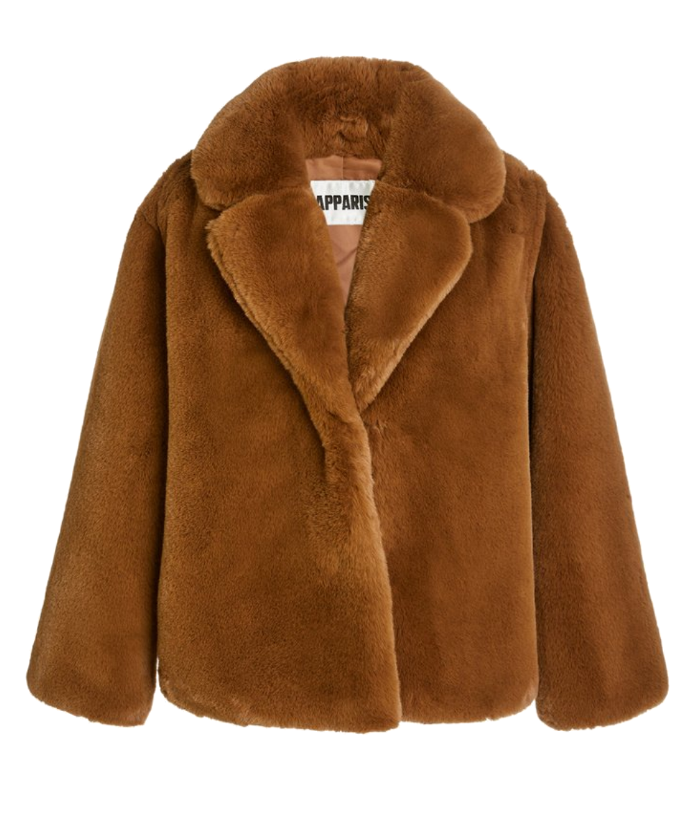 manon Coat camel apparis