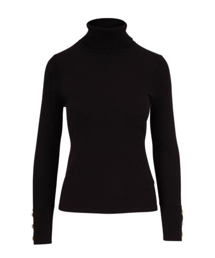 L'Agence Black Odette Sweater