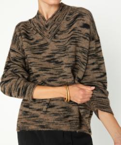Dutton Sweater Tawny Spacedye Brochu Walker
