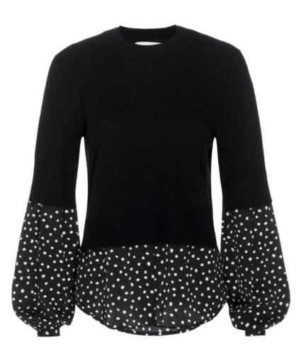 Ebbi Sweater Black Onyx Brochu Walker