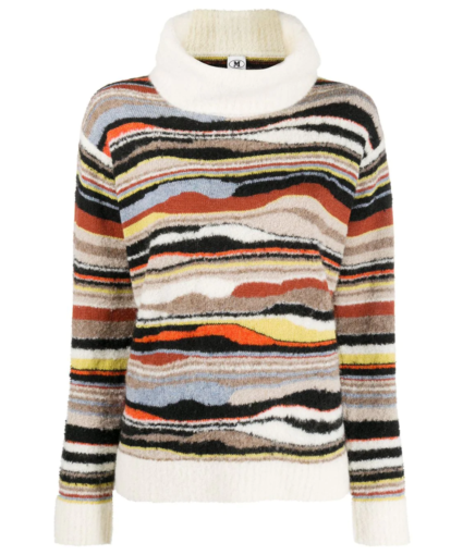 Turtleneck Sweater M Missoni