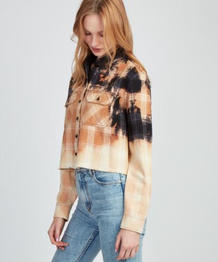 Jocelyn Bleached Flannel Side