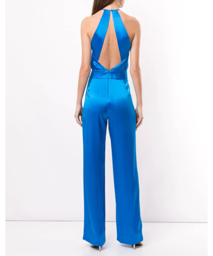 Michelle Mason Open Back Jumpsuit