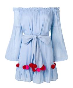 sundress charlotte dress blue red
