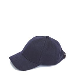 Cashmere Cap Navy Brodie