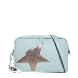 Logo Star Camera Bag Celadon Dark Silver Golden Goose