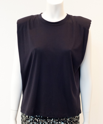 mas muscle tee washed black le superbe