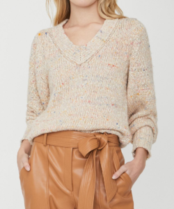 Andrain Sweater Saffron Multi Brochu Walker