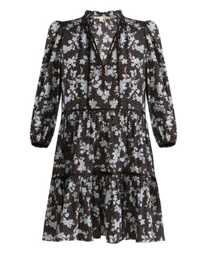 Hawken Dress Black Multi