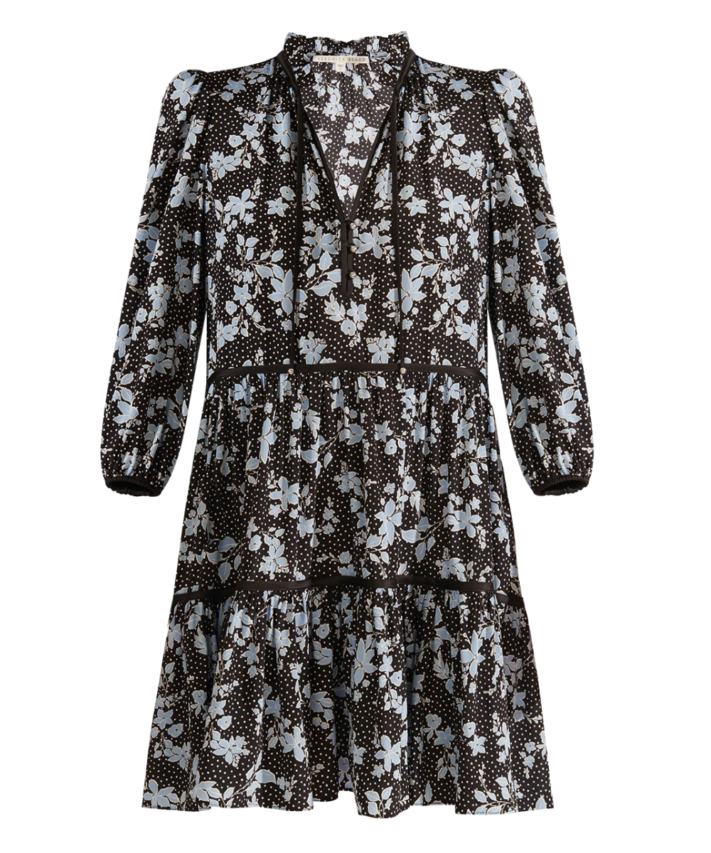 Hawken Dress Black Multi