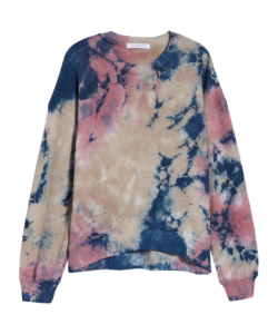 Oversized Sweatshirt Rouge Storm Tie Dye