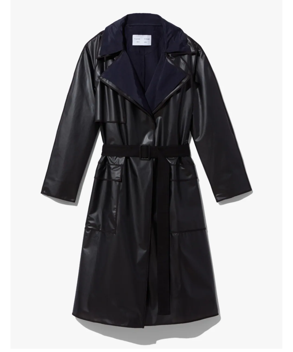 Rain Coat Trench With Liner Proenza Schouler Flat Lay