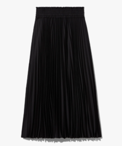 pleated skirt black proenza schouler