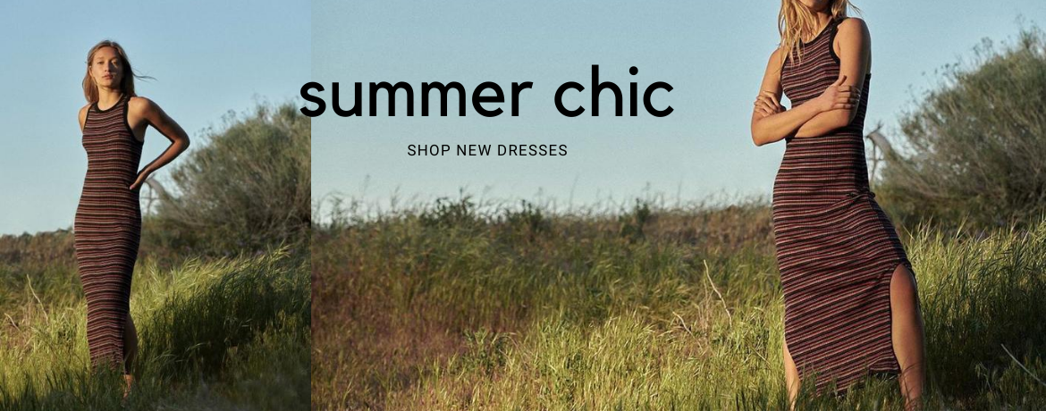 summer chic dress banner