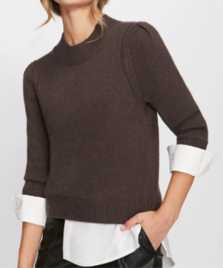 eton sweater brown white brochu walker