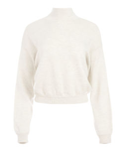 mattie sweater oatmeal alice + olivia