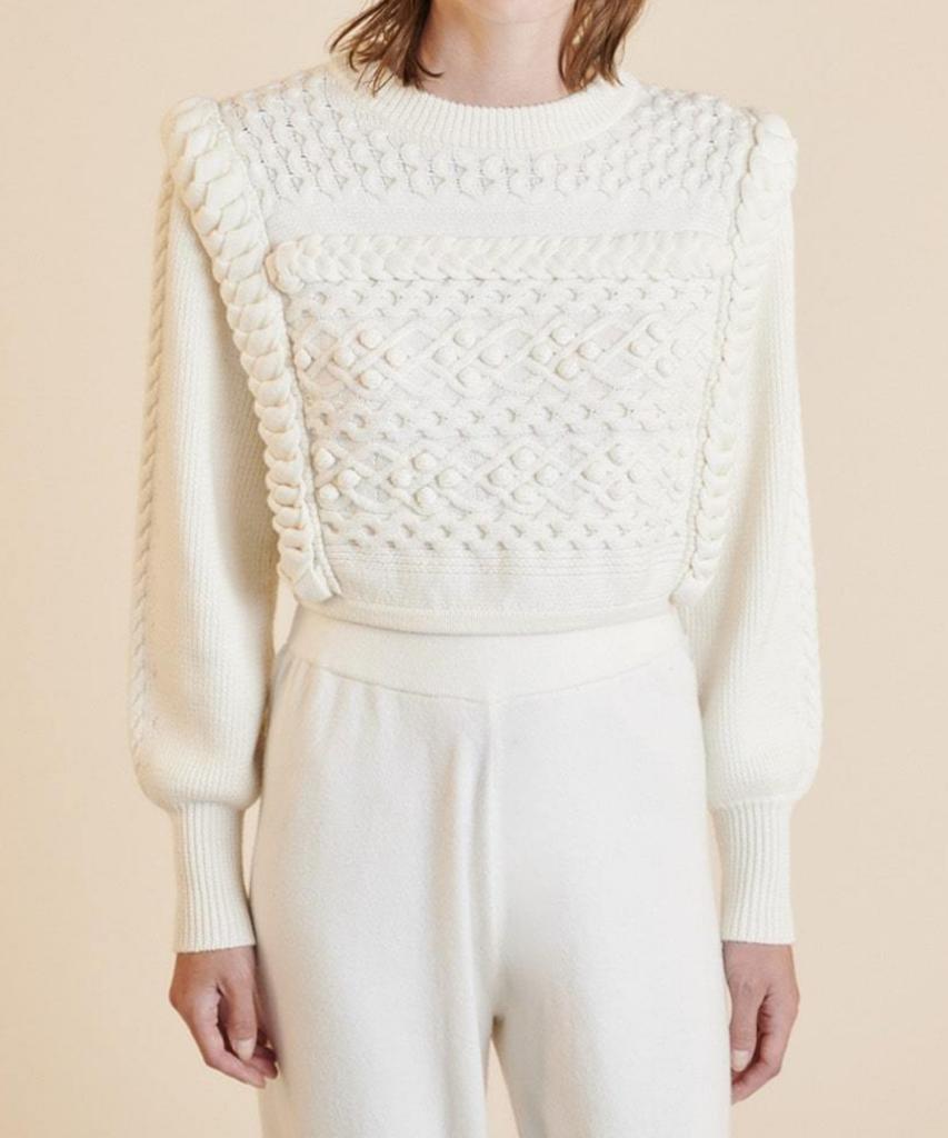 primrose sweater eggshell ronny kobo