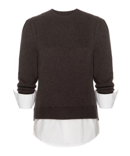 Eton Sweater Brown White Brochu Walker (2)