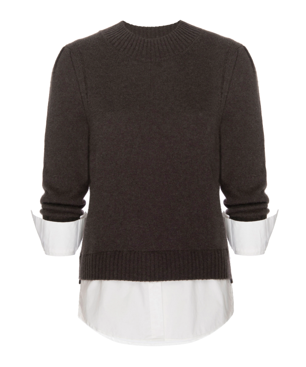 Eton Sweater Brown White Brochu Walker (2)