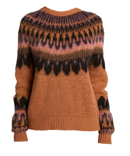 Hollis Sweater Allspice Black Coral Pink A.L.C.