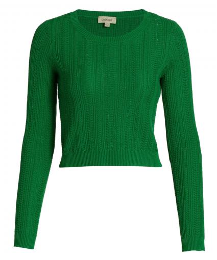 aceline sweater amazon green l'agence