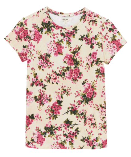 ressi tee t-shirt Fuchsia Tan Bouquet L'Agence