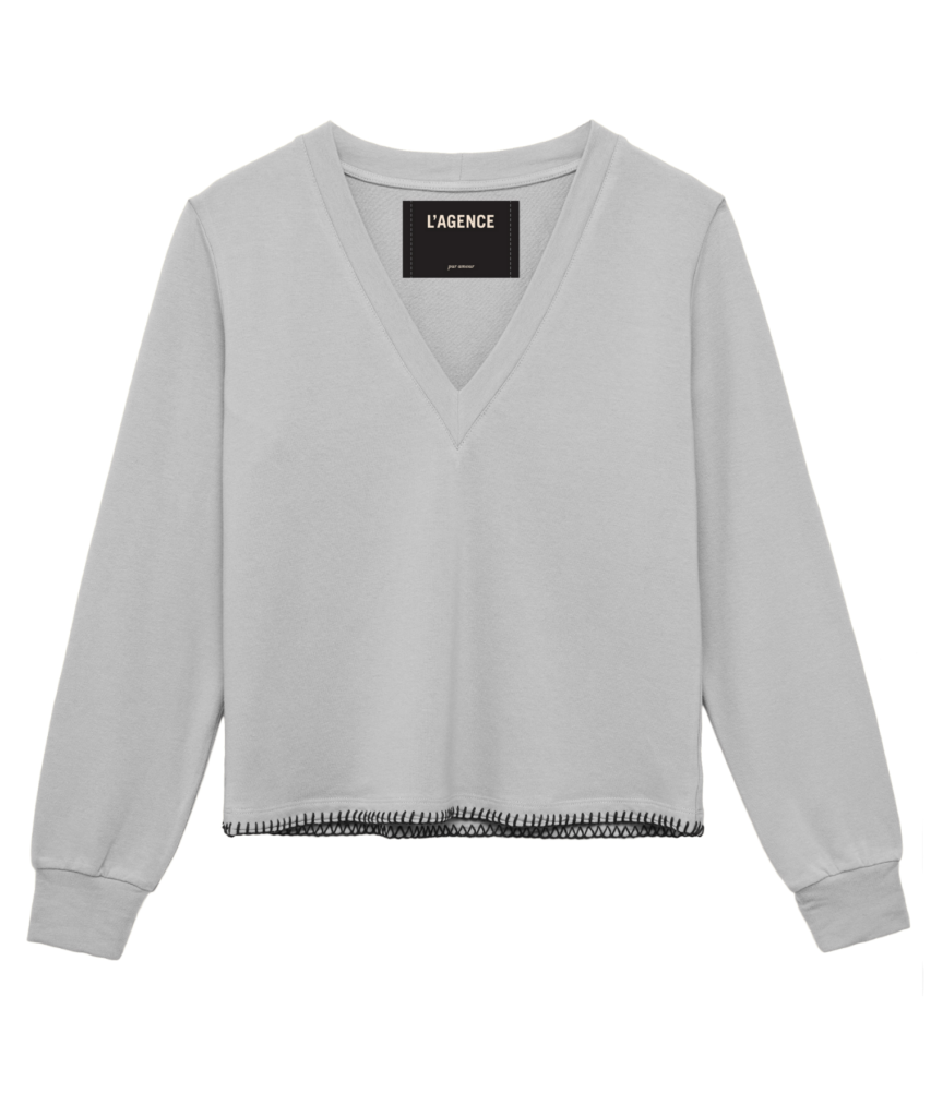 Helena Sweatshirt Heather Grey L'Agence