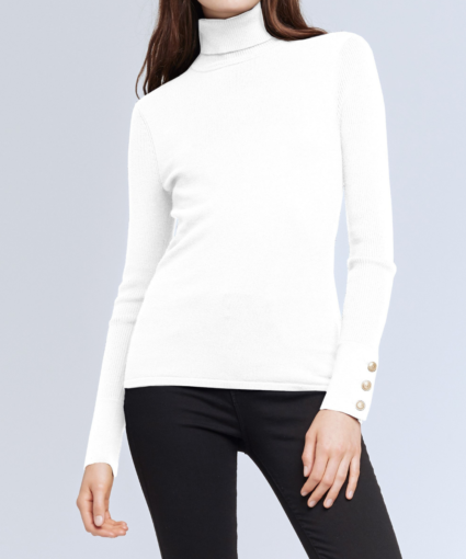 Odette Sweater Ivory L'Agence