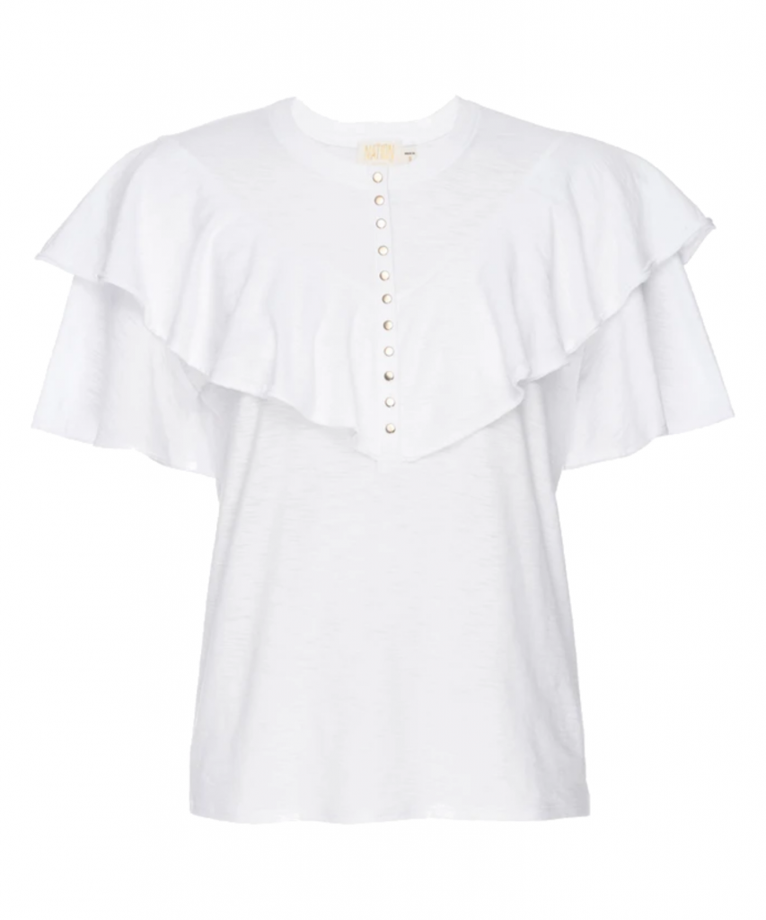Vivienne Tee T-Shirt White Nation Ltd