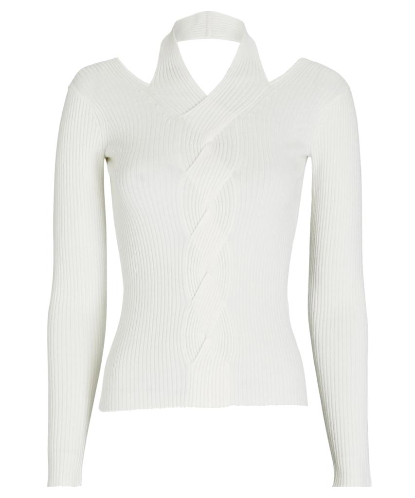 leah sweater white jonathan simkhai